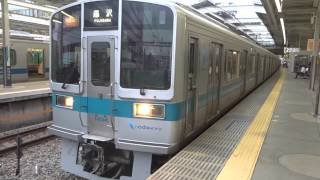 getlinkyoutube.com-2015/9/16 小田急1000形 快速急行藤沢行き 新百合ケ丘駅発車