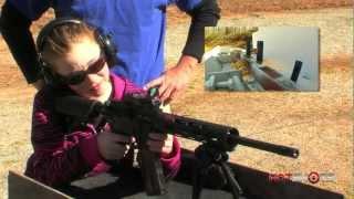 getlinkyoutube.com-3-Gun Champ Loses to 9-year-old Girl!