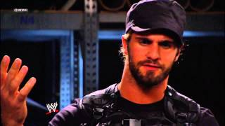 Dean Ambrose, Roman Reigns and Seth Rollins exclusive interview: Raw, Nov. 26, 2012