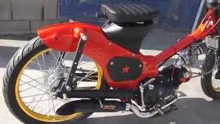 getlinkyoutube.com-Drag Cub 2 C50 by RZ Customs 2014- first start