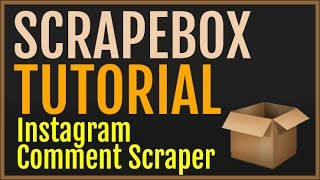 getlinkyoutube.com-Scrapebox Tutorial: Creating A Simple Instagram Comment Scraper Quickly