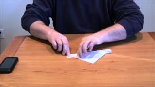getlinkyoutube.com-Smartphone (iPhone) Stand Origami DIY II