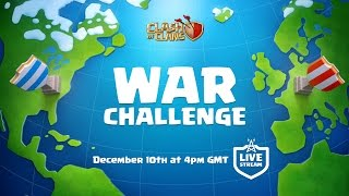 getlinkyoutube.com-Clash of Clans War Challenge - LIVE