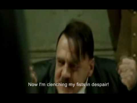 Hitler rants about his dead dog