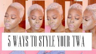 getlinkyoutube.com-5 Ways To Style Your TWA