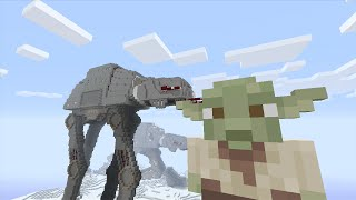 getlinkyoutube.com-Minecraft (Xbox 360) - STAR WARS SKIN PACK! - FULL SHOWCASE + First Impression!