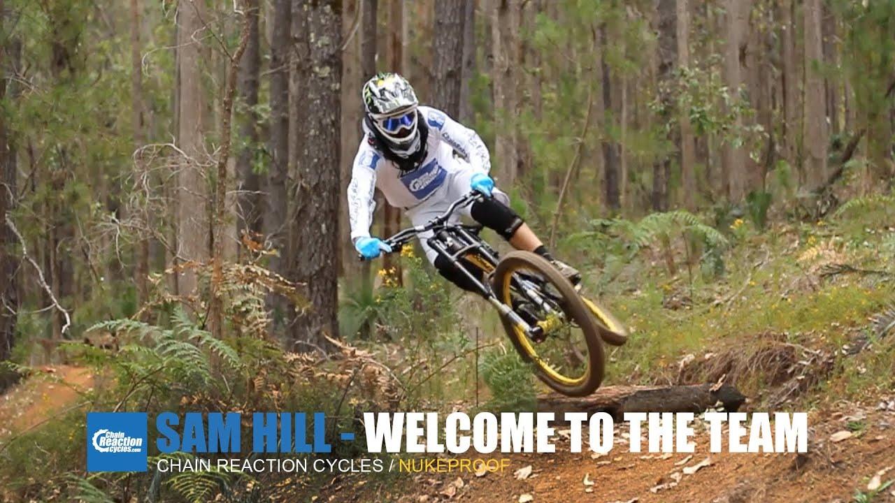 Sam Hill vinner på sin nya Nukeproof -Kent Clarström