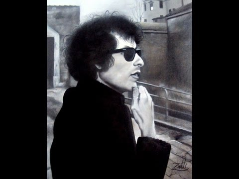 BOB DYLAN - OIL ON CANVAS -  LIKE A ROLLING STONE