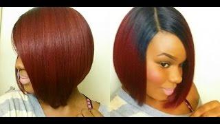 getlinkyoutube.com-HOT BOB! Sensationnel Empress Edge L-Part Wig Rihanna!