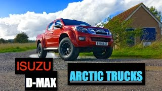 getlinkyoutube.com-Isuzu D-Max Arctic Trucks AT35 Review - Inside Lane