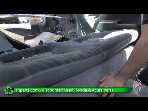 How to replace / change Rear Seats for a 1996 1997 1998 1999 2000 Honda Civic  REPLACE DIY