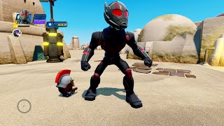 getlinkyoutube.com-Disney Infinity 3.0 Marvel Battlegrounds - Ant Man Gameplay (Challenges/Toy Box)