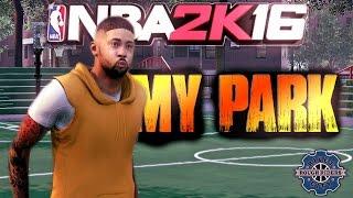 getlinkyoutube.com-NBA 2K16 My Park - That Lockdown Defense