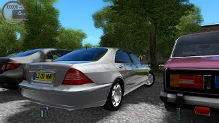 getlinkyoutube.com-City Car Driving 1.4.1 Mercedes S600 W220 Autobahn [G27]