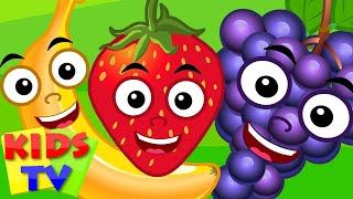 Five Little Fruits | Nursery Rhyme For Kids And Children Songs | Kids TV