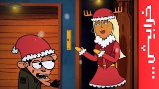 #على_راسي: عوض وجبر نويل #MerryChristmas #مياو_مياو_مياو