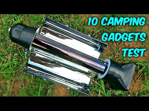 10 Camping Gadgets put to the Test