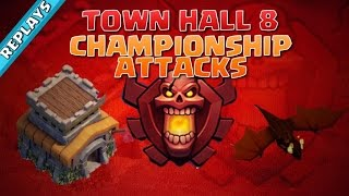getlinkyoutube.com-Town Hall 8 CHAMPION Attack Replays! | Clash of Clans