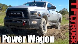 getlinkyoutube.com-2017 Ram Power Wagon First Drive Off-Road Review: New Look but Same Monster Off-Road Ability
