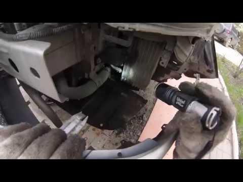 Замена радиатора вариатора Mitsubishi Lancer 10
