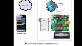 getlinkyoutube.com-Alarma de puerta abierta envío de mensaje SMS Módem Quectel UC15 UMTS microcontrolador Bolt 18F2550