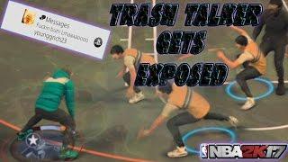 getlinkyoutube.com-EXPOSING TRASH TALKER ??   BROKE HIM 6 TIMES   NBA 2K17 MyPARK