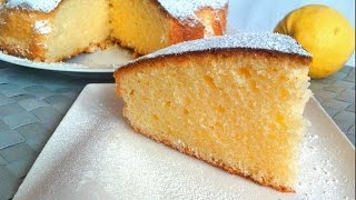 getlinkyoutube.com-Torta al limone senza glutine e lattosio
