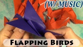 getlinkyoutube.com-How to Fold Flapping Birds Fast