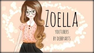 getlinkyoutube.com-Zoella ▪ Drawing by ~DebbyArts