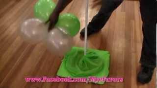 getlinkyoutube.com-How to Build a Balloon Dance Floor