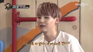 getlinkyoutube.com-150629 BTS YamanTV ep24:JUNGKOOK VS SUGA imitate other KPOP idol cut