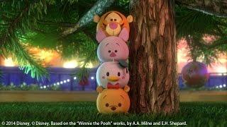 getlinkyoutube.com-Disney Tsum Tsum | Le Sapin de Noël | Disney Channel BE