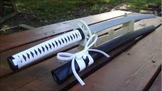 getlinkyoutube.com-Wooden Katana Tutorial Part 22- White Tiger Katana