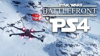 getlinkyoutube.com-OWNING THE SKIES - Star Wars Battlefront Beta PS4 Gameplay (X-Wing, A-Wing, Fighter)