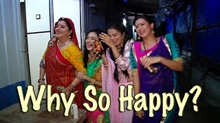 getlinkyoutube.com-Swara and Ragini aka Helly and Tejaswi HAPPY DANCE | Watch out to know why the duo are so happy