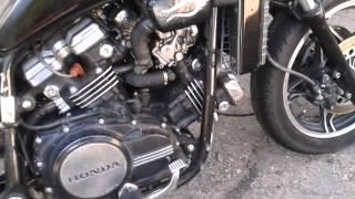 getlinkyoutube.com-Honda Magna Bobber Chopper