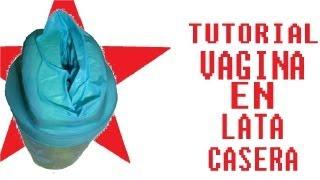 getlinkyoutube.com-TUTORIAL: Fabrica 1 VAGINA en lata CASERA