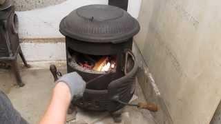 getlinkyoutube.com-Penn Coal Stove - Part 1 of 5