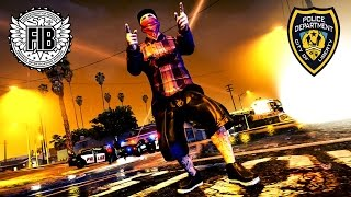 """getlinkyoutube.com-GTA ONLINE """"POLICE VS CONVICTS"""" FREEMODE SPECIAL (Car Shows, Fashion Shows & More)"""