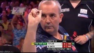 getlinkyoutube.com-Phil Taylor - All Televised Nine Dart Finishes