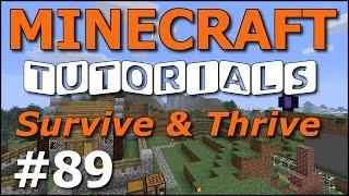 getlinkyoutube.com-Minecraft Tutorials - E89 Ender Dragon and Egg! (Survive and Thrive Season 7)