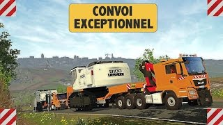 getlinkyoutube.com-Farming Simulator 15 😎 100% Travaux Publics - Convoi Exceptionnel