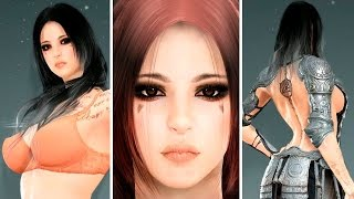getlinkyoutube.com-Black Desert Online: Sorceress Character Creation (3rd CB Korea)