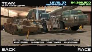 getlinkyoutube.com-Burnin' Rubber 5 - Equipo Tank,Scud,Panzertruck,Tumbler VS Equipo Spear,Hound,Bison,Juggernaut