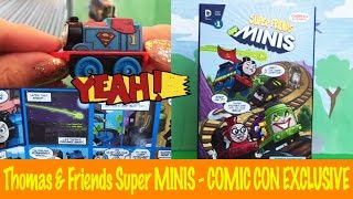 getlinkyoutube.com-Thomas & Friends Super Friends MINIS - Comic Con 2015 Exclusive - Show and Tell Toy Review