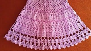 getlinkyoutube.com-Crochet Patterns| for free |crochet skirt| 1523