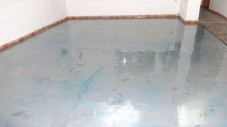 getlinkyoutube.com-Resina Epóxi transparente para pisos.