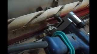 getlinkyoutube.com-Изготовление балясин ручным фрезером. The milling machine for wood.