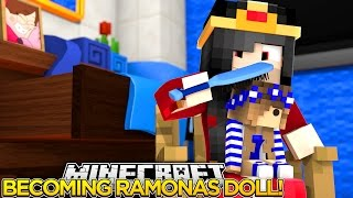 getlinkyoutube.com-Minecraft Little Carly-RAMONA TURNS ME INTO A DOLL w/Little Ally.