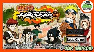 getlinkyoutube.com-Naruto Utimate Ninja Heroes Oficial Para Android [ APK + DATOS]| Nuevo Juego  Our Android full